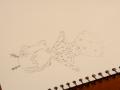 천세상(리.. : 천세상(리퀘왔오 늦게해서 미안^^)참고로 못그렸어 눈 ㅠ 스케치판 ,sketchpan