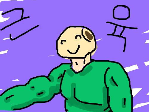 호빵근육 : 죄송합니다. 못그려서... 스케치판 ,sketchpan