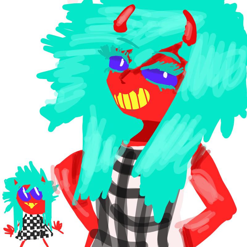 앙마 : 앙마 스케치판 ,sketchpan