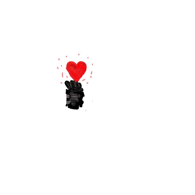 하트 : 하트 스케치판 ,sketchpan
