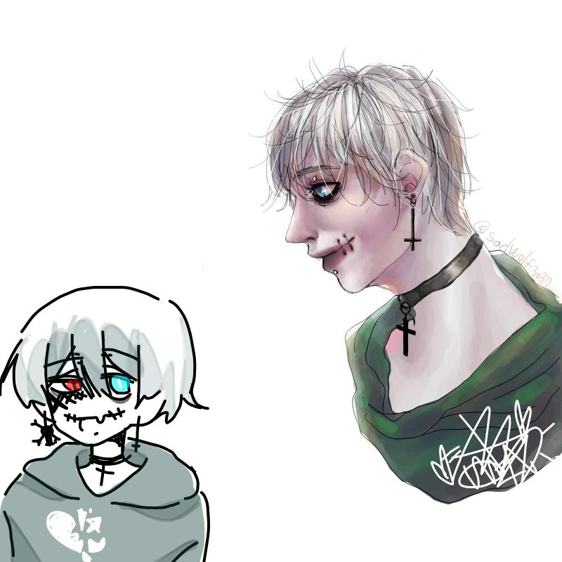 연성 결과.. : 연성 결과는 다른 캐릭터... (처참) 스케치판 ,sketchpan
