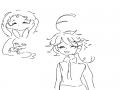 엠마 랑 코.. : 엠마 랑 코니 스케치판 ,sketchpan