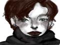 원레이어  .. : 원레이어    어우 얘 덥겠다ㅠㅠ 불쌍해.. 스케치판 ,sketchpan