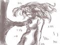 나무 : 나무 스케치판 ,sketchpan