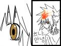 이별 : 츠나와 하이퍼 츠나의 이별 스케치판 ,sketchpan