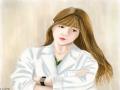 닥터스 보.. : 닥터스 보고 박신혜를 그렸지만 역시 저는 존못입니다 ㆅ 국일병원이라고 있어야 하지만 너무 어려워서 패스... 스케치판 ,sketchpan