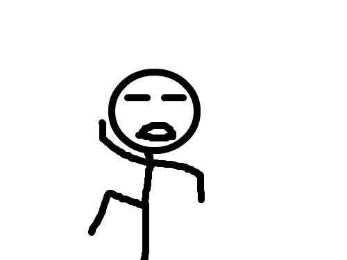 춤추는 스틱맨 : 춤추는 스틱맨을 만들어 봅시다 스케치판 ,sketchpan
