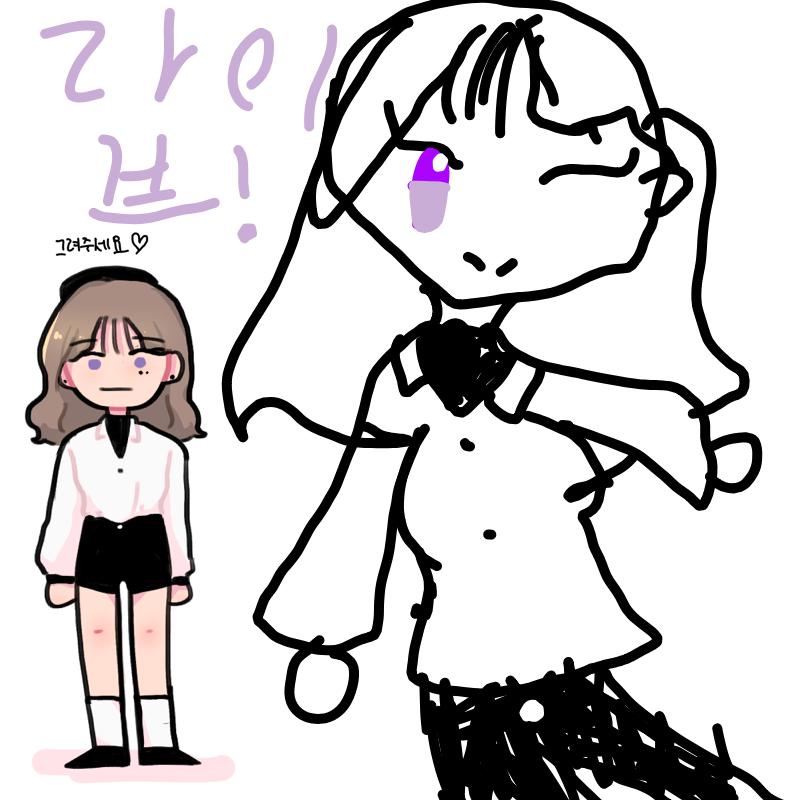 ♡♡♡♡ : ♡♡♡♡ 스케치판 ,sketchpan