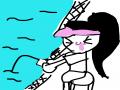 낚시 : 낚시 스케치판 ,sketchpan