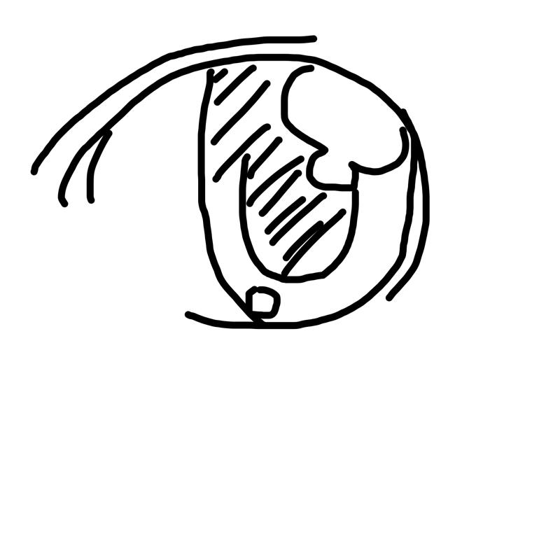 눈 : 눈 스케치판 ,sketchpan