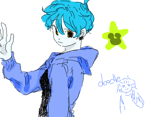 낙서 : 외계인인ㅇ닝닝ㄴㄴ인 스케치판 ,sketchpan
