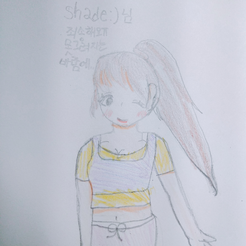 리퀘완료☆.. : 리퀘완료☆ 그림이 잘안그려졌... 스케치판 ,sketchpan