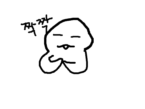 행복의 짝짝 : 행복해서 스케치판 ,sketchpan