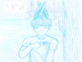 둘리없는님.. : 둘리없는님! 리퀘입니다?! 스케치판 ,sketchpan