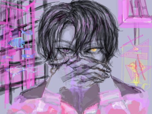 금지어x비현실 : 핑글핑글 스케치판 ,sketchpan