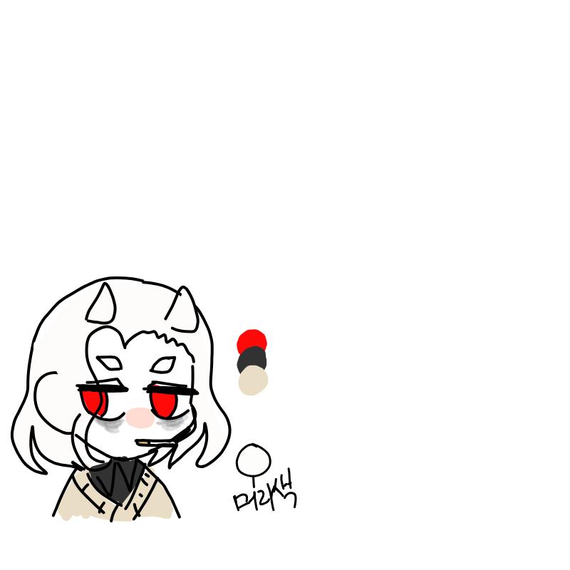 오너캐 그.. : 오너캐 그려주세요 스케치판 ,sketchpan