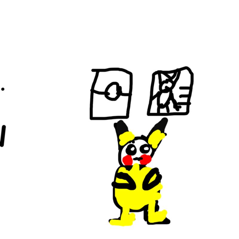 Pikachu : Pikachu 스케치판 ,sketchpan