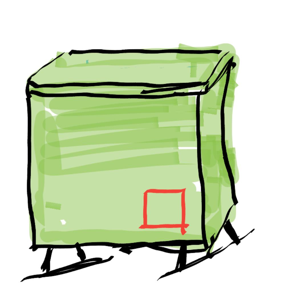 가설 분전.. : 가설 분전함2 스케치판 ,sketchpan