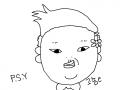 싸이채색노리ㅋㅋㅎ : 아앜ㅋ싸이 캐릭터 너무 귀엽다고생각했는데 생각보다 그리기가 어려운거같아용ㅠㅠㅠㅋㅋ 스케치판 ,sketchpan