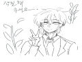 Let painti.. : Let painting!♡ 색칠 공부!! 스케치판 ,sketchpan