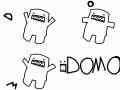 Domo Suprise!! : Domo, domo, domo!! 스케치판 ,sketchpan