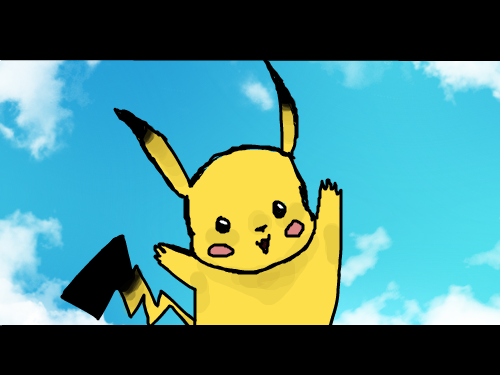 I found you Pikachu!!! : Pikachu!! I found you? 스케치판 ,sketchpan