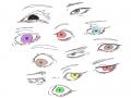 눈 그리기 .. : 눈 그리기 재미있다