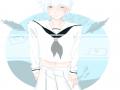 긴토키세라.. : 긴토키세라복인데 매우부끄럽습니다(왜지..??) 스케치판,sketchpan