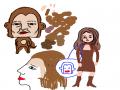 힘드네요.... : 힘드네요...그래도 해봄♡♡♡ 스케치판,sketchpan