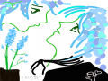 누네띠네 .. : 누네띠네 이어그리기♡♡♡ 스케치판,sketchpan
