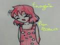판다수니:3.. : 판다수니:3 님이 그려주신 빨간머리 소녀..고마워요♡♡♡ 스케치판,sketchpan