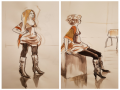 크로키 : 크로키 스케치판 ,sketchpan