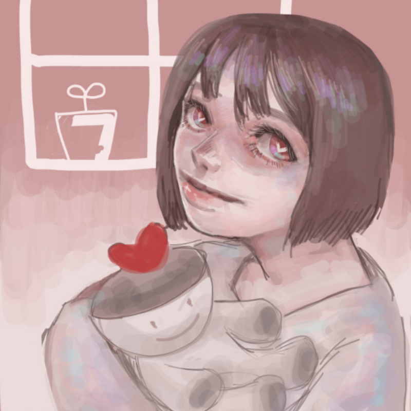 muck님이 그.. : muck님이 그려준 사랑이 의인화..고마워요♡♡♡ 스케치판 ,sketchpan