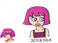 어여쁜 20.. : 어여쁜 20대 캐릭터 스케치판 ,sketchpan