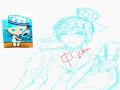 난 단지 성.. : 난 단지 성숙하게 그려보고싶었는데.. 스케치판 ,sketchpan