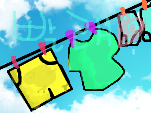 빨래 : ㅋㅋㅋㅋ 스케치판 ,sketchpan