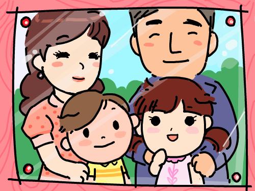 화목한 가족 : 화목한가족입니다. 스케치판 ,sketchpan