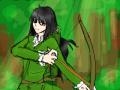 자캐 : 원래 이 아이의 무기는 칼이지만 뭐 어떻습니까 이쁘면 그만이죠 스케치판 ,sketchpan