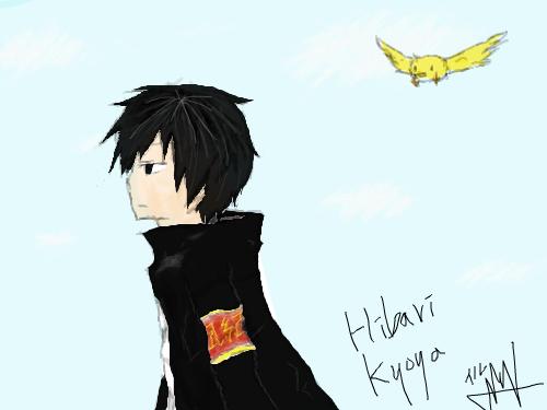 히바리 : 광마입니다 ㅋㅋㅋ 히바리 한번 그려봤어요 ~_~ㅋ 그림신청 받습니다-[베경채색 무시바래요] 스케치판 ,sketchpan