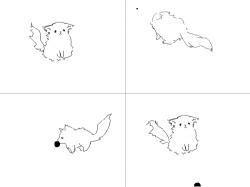 무한 공물어오기 : 헣... 기찮다 , 스케치판,sketchpan,개지우개