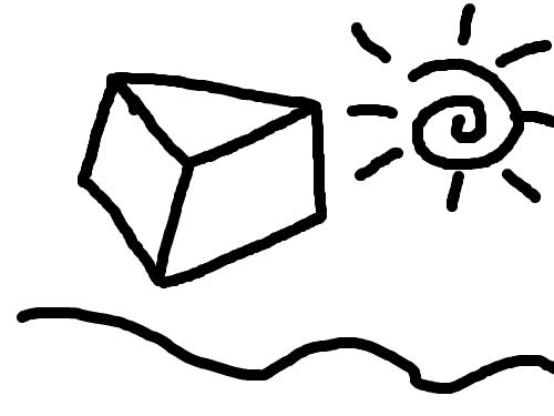 바닷속 : 와우!놀라워! 스케치판 ,sketchpan