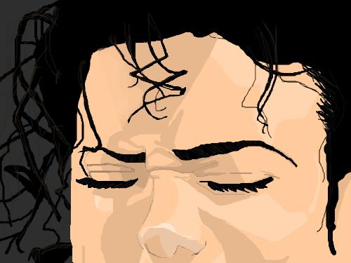 Michael : MIchael Jackson 스케치판 ,sketchpan