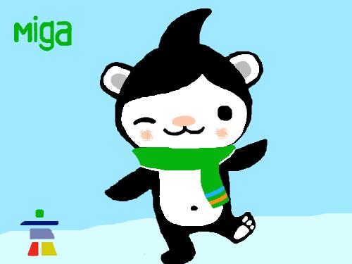 Miga mascot : Vancouver 2010 olympics mascot 스케치판 ,sketchpan