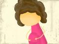 임신한 아주머니 : 얼굴 그려주세요!ㅠ.ㅠ 스케치판 ,sketchpan
