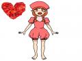 장미잎 의.. : 장미잎 의인화 끝.... 스케치판 ,sketchpan