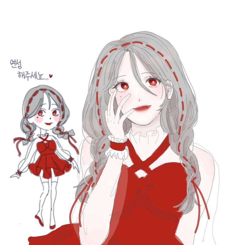 ♡ : ♡ 스케치판 ,sketchpan