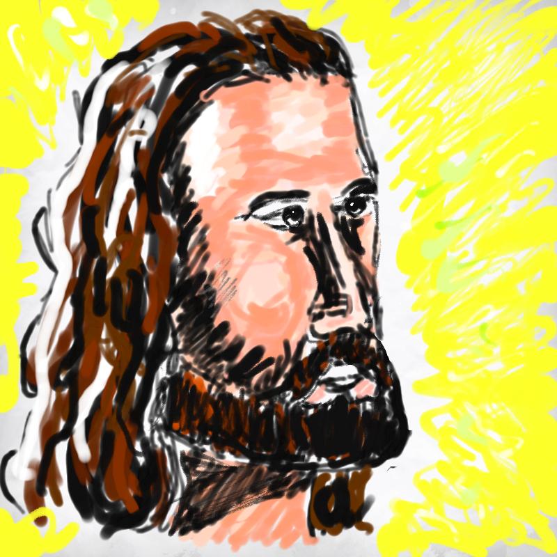 예수님 : 예수님 스케치판 ,sketchpan