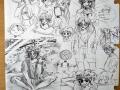 뾰롱 : 뾰롱 스케치판 ,sketchpan