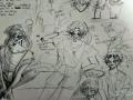 위에 에스.. : 위에 에스디는 타래 스케치판 ,sketchpan