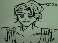 또잇지렁~.. : 또잇지렁~떡대여캐~ 스케치판 ,sketchpan